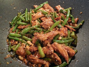 Emeril's Chicken and Green Bean (Spicy!) Stir-Fry