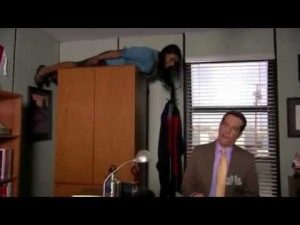 Planking on The Office