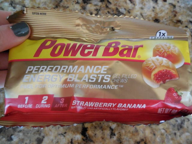 Delicious!  But not my favorite running fuel.