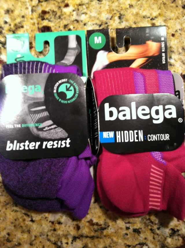 New Balega socks