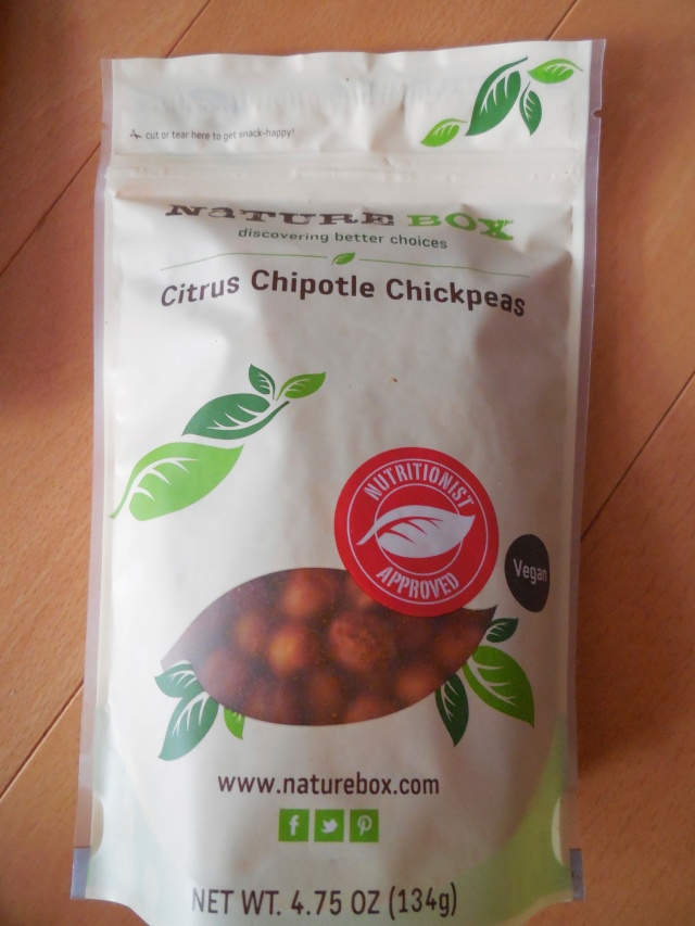 This bag seemed to last forever not because I didn't like them but because the bag was really packed with delicious chickpeas.