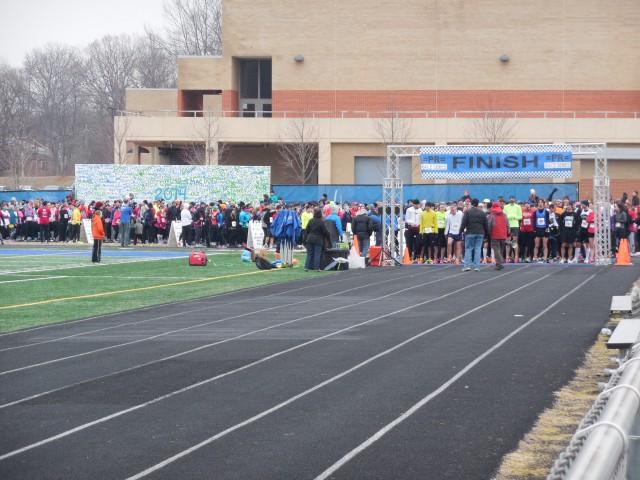 Great shot of the start line by photographer Matt