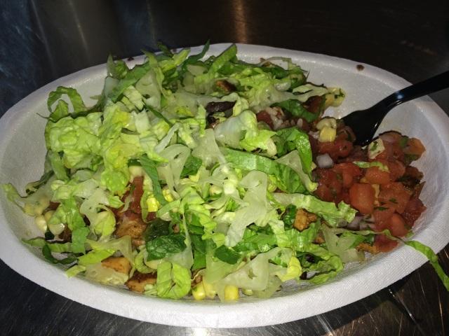 Chicken burrito bowl...good idea?