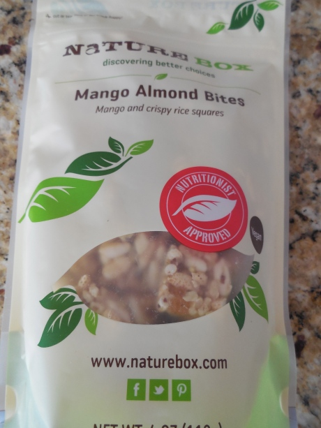 AMAZING and very unique snack.  Best for mid-morning or to satisfy a sweet craving.  Very light and just sweet enough.