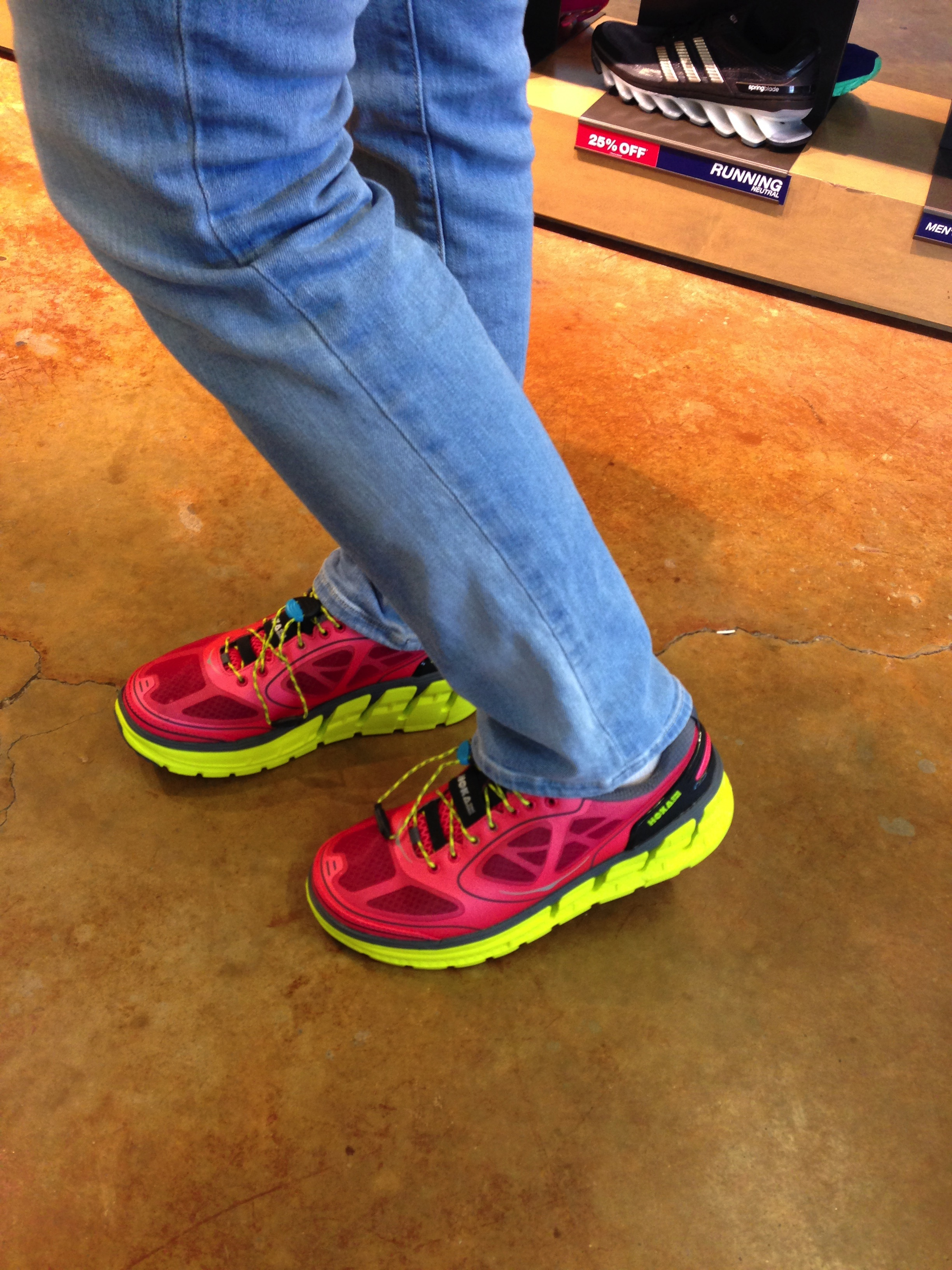 The Opposite Of A Minimalist Sneaker The Hoka One One