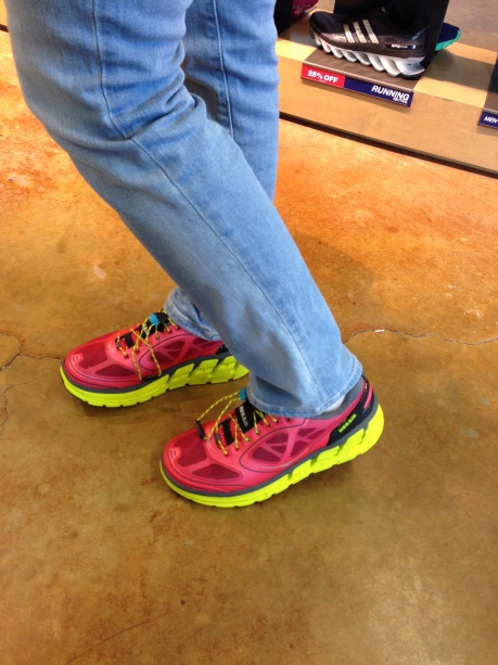 Close-up of Women's Hoka One One Conquest