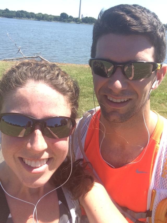 Saturday's Run along the Mount Vernon Trail