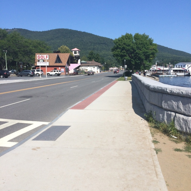 Beach Road, Lake George Village