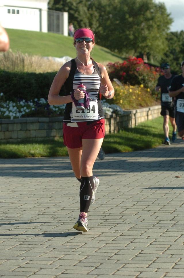 Wearing Run Times during Annapolis 10 miler
