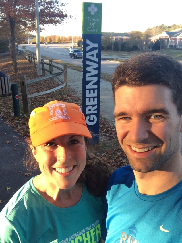 Our first, of many, Greenway runs!