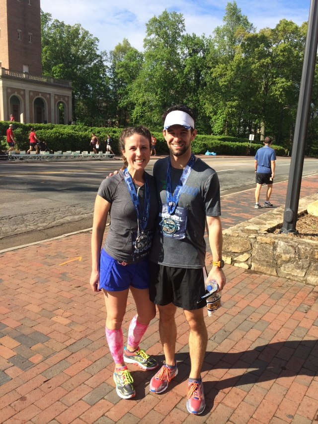 After the Tar Heel 10 Miler