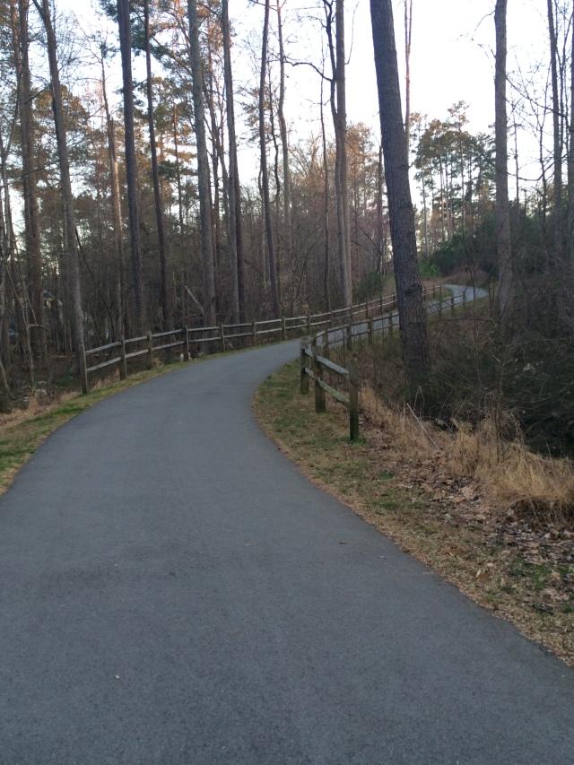 Pretty Black Oak Greenway run!