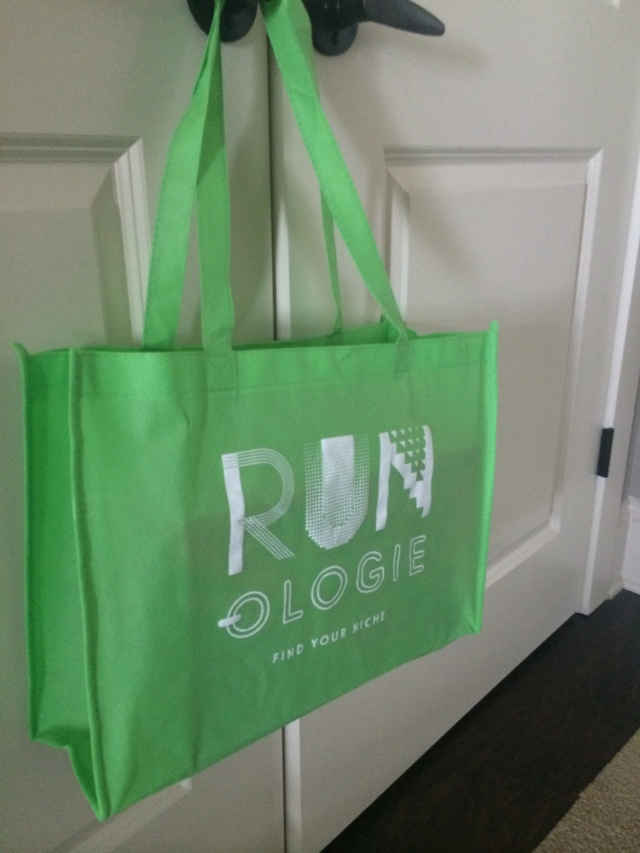 Awesome reusable bag from Runologie from sneaker purchase!