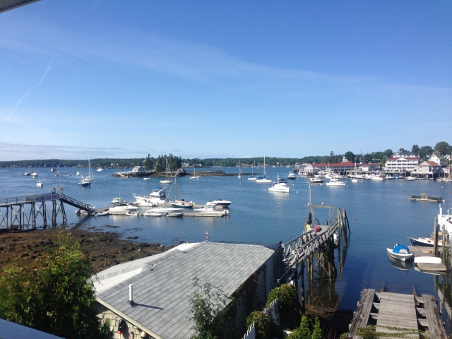 Pretty morning in Boothbay