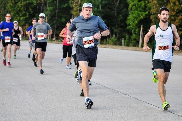 Only photo of Mike from this year's race