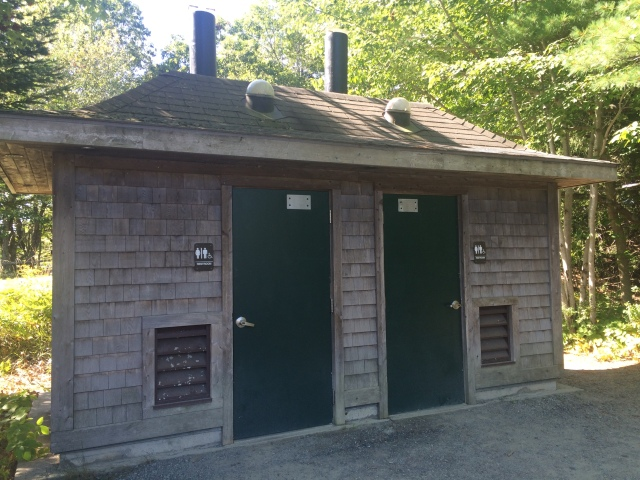 Restrooms by Eagle Lake entrance
